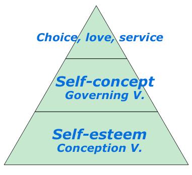 dg-pyramid esteem concept choice